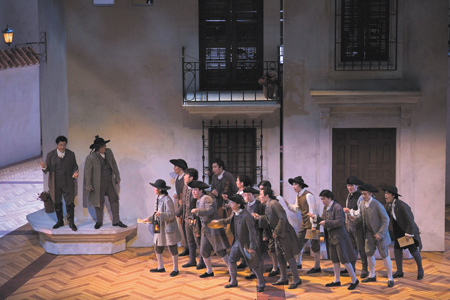 photo: Gioachino Rossini: II Barbiere di Siviglia ROHM OPERA THEATER